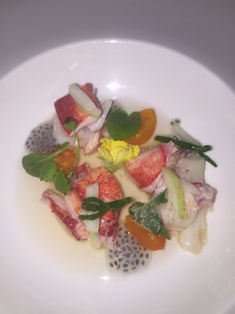 Forestville, Kalifornia: Lobster Salad