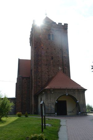 Otmuchow, Polen: Church in Kałków