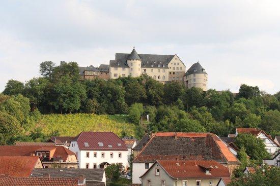 Bad Munster am Stein-Ebernburg, เยอรมนี: So sieht's aus wenn man rausguckt