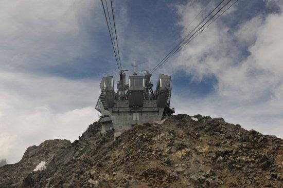 Punta Helbronner - Skyway Monte Bianco: Punta Helbronner - Stazione di arrivo