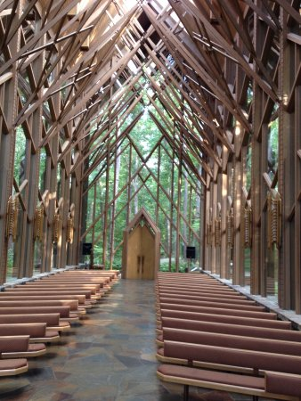 Garvan Woodland Gardens Inside Wedding Chapel 3