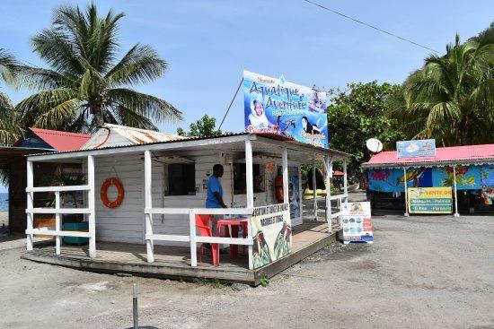 Le Stand Aquatique Aventure à Bouillante