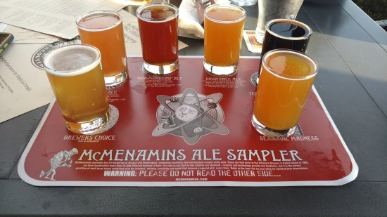 Vancouver, WA: Beer Flight = YUMMY!