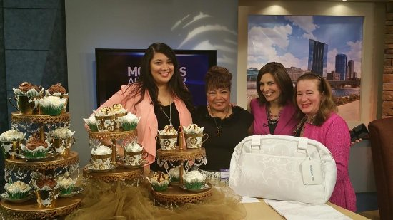Nawal's Mediterranean Eatery Gourmet Cupcakes & Desserts: Nawal's Being Featured on WZZM13