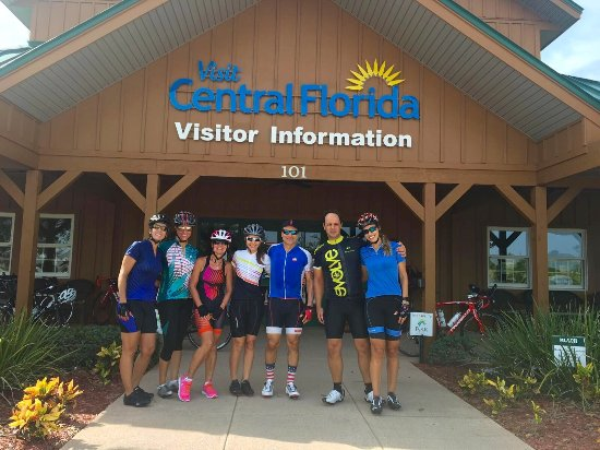 Central Florida's Visitor Information Center: Nice stop during our bike rides. Great people, clean bathrooms, information on the area, snacks,
