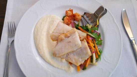 Kohtla, Estonia: Baked pike-perch