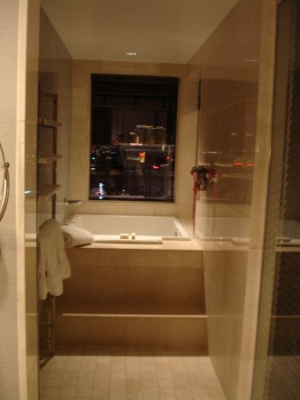 the of las vegas autograph collection japanese soaking tub with window view of