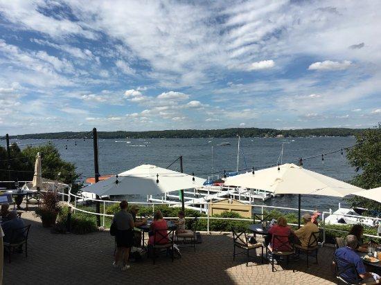 Geneva Inn: Great views from everywhere.