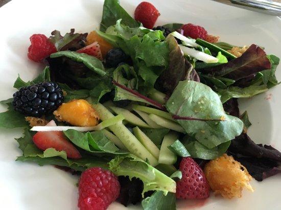Geneva Inn: Beat that salad. I dare ya.