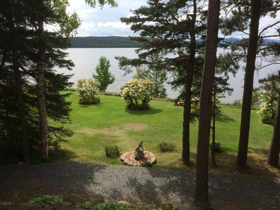 Lac-Megantic, Canadá: À partir du balcon.