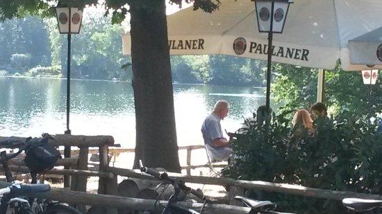 Kahl am Main, Германия: Toller Blick auf den See!!!