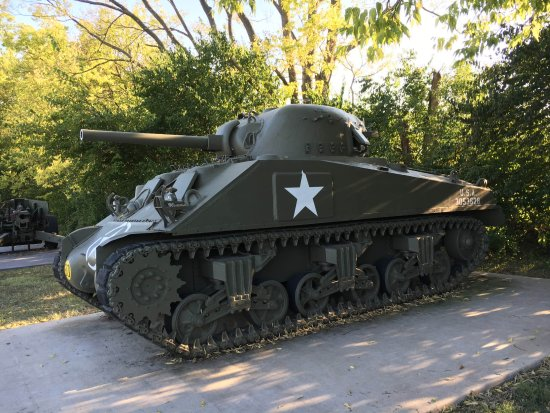 Carlisle, Pensilvania: Sherman tank