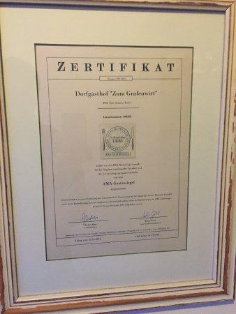 Aich, Austria: Auszeichnungen - man zeigt was man kann