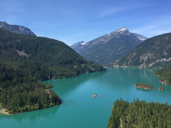 North Cascades National Park, WA: Diablo Lake