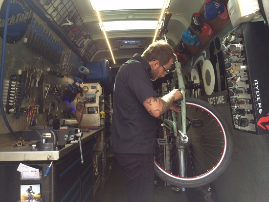 Loden Hotel: Bike tuning