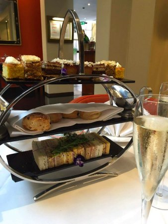 Delightful afternoon tea at the Tangerine Cafe Bar