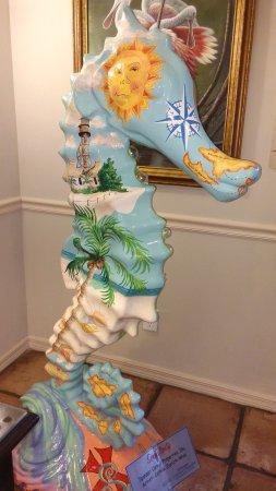 Lobby piece of art.  Gorgeous!