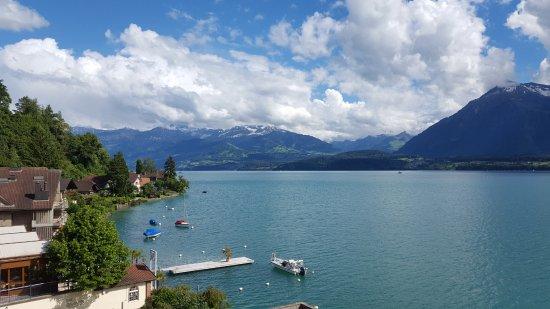 Hilterfingen, Szwajcaria: room view