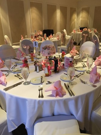 Groovy Wedding Table Display Picture Of The H Hotel Midland Home Remodeling Inspirations Cosmcuboardxyz
