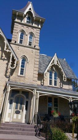 Ingersoll, แคนาดา: Restaurant entrance