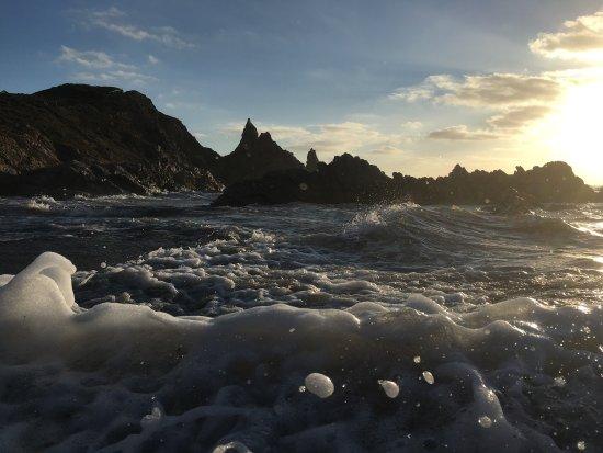 spiaggia rena majore mar mediterrneo en estado puro una playa viva