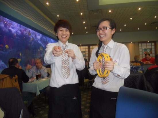 Happy Birthday song from staff - Picture of Mandarin