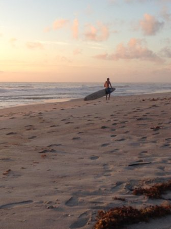 Indialantic, FL: Surfing and sunning
