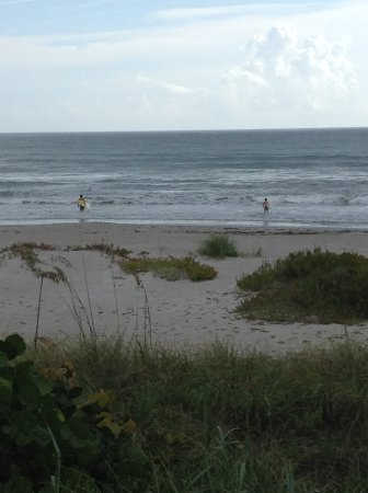 Indialantic, FL: Surfing family