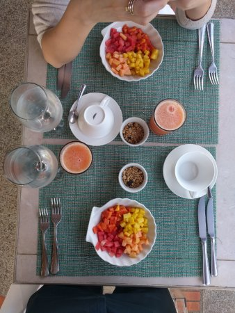 Asclepios Wellness & Healing Retreat: included breakfast