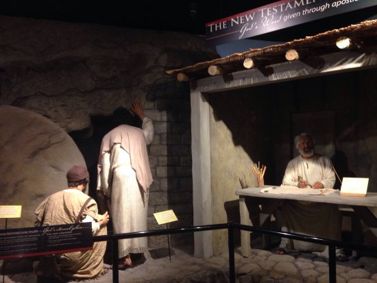 One Of Many Exhibits At The Museum Picture Of Creation