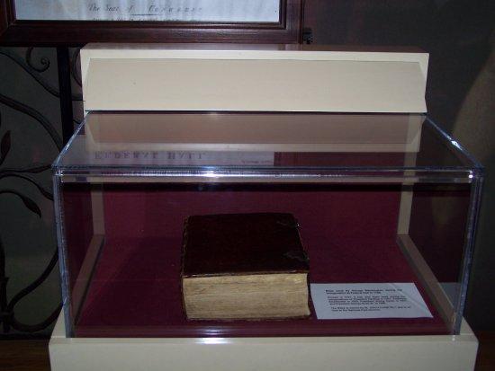 Federal Hall : George Washington Bible