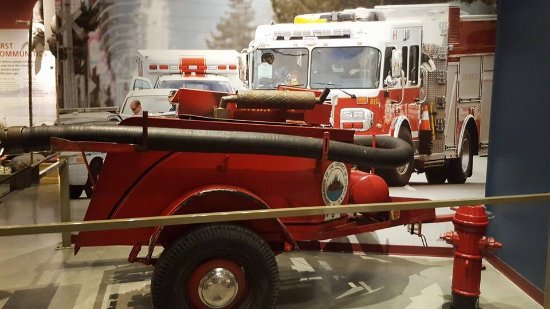 Surrey, Canada: Old fire hose system