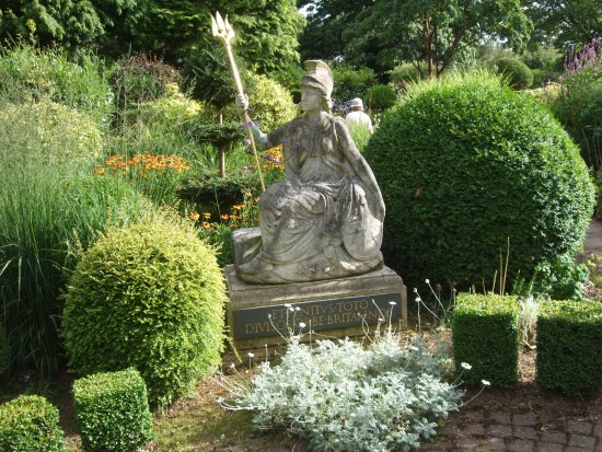 Herefordshire, UK: Laskett Gardens