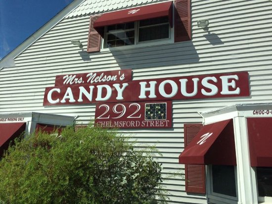 Mrs Nelson's Candy House