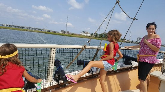 Pirate Ship Adventures of Chincoteague