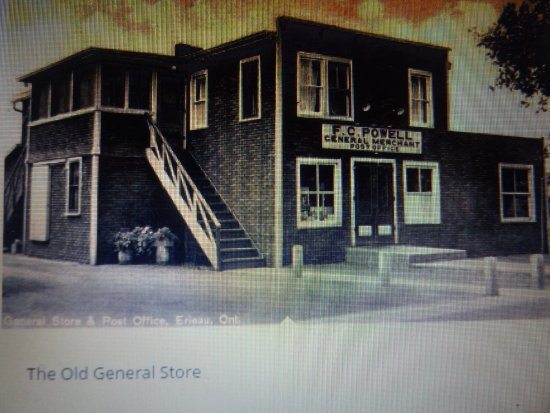 Erieau, Canada: The old General Store