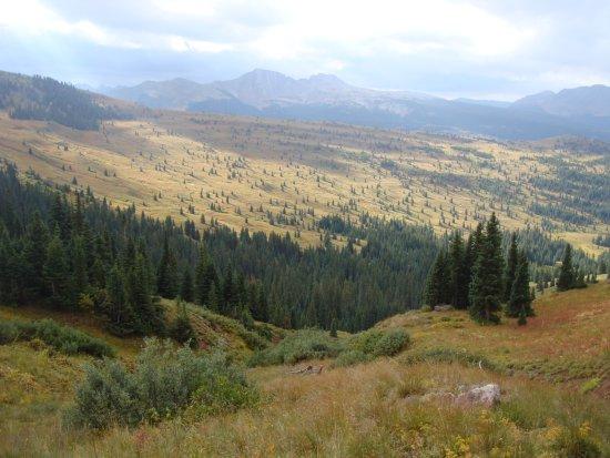 San Juan Hut Systems: Day 1- Above Molas Pass.