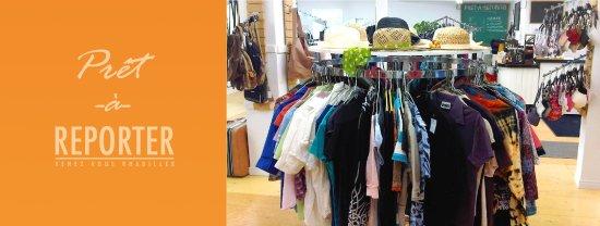 Nicolet, Kanada: Vêtements.Prêt-à-reporter
