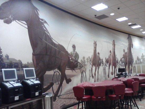 Forest Lake, MN: cool mural inside