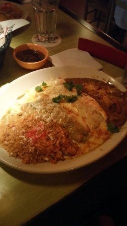 Pappasito's Cantina: Mixed plate - very good