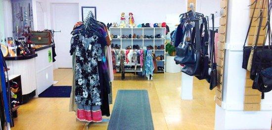 Nicolet, Canada: Boutique.Prêt-à-reporter
