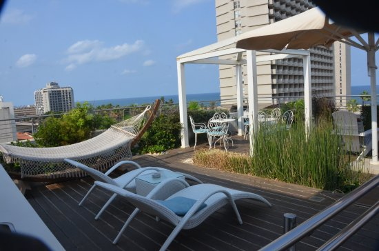 Shalom Hotel & Relax Tel Aviv - an Atlas Boutique Hotel: Rooftop lounge
