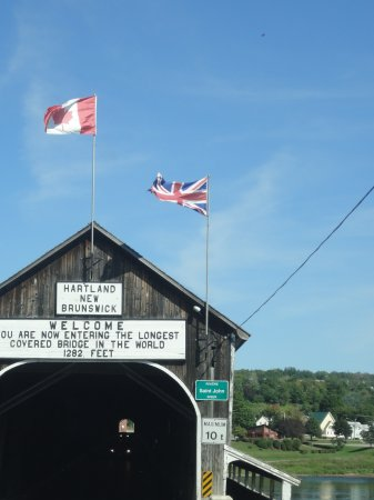 Hartland Covered Bridge- Visit Sept. 2016