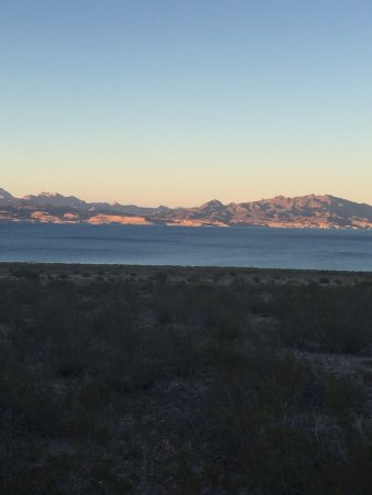 Lake Mead RV Village: Our view at 16