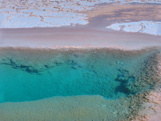 Tolar Grande, Argentina: Laguna de ojos de mar