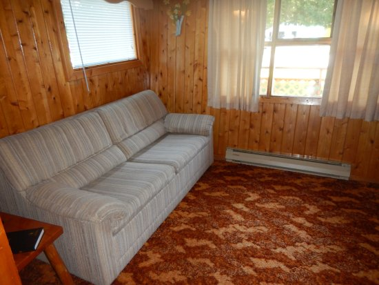 Huron Motor Lodge: Comfy Couch
