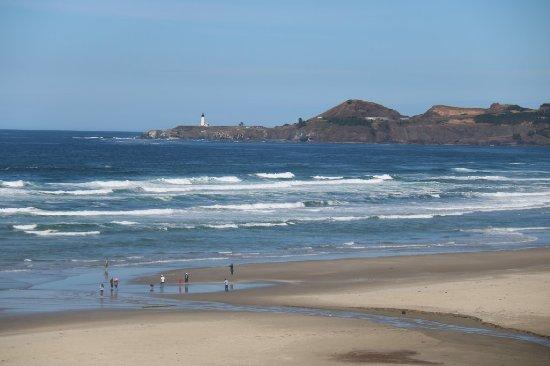 View of beach from Don Davis Memorial Park