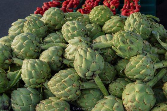Farmer's Markets in Napa: Artichokes