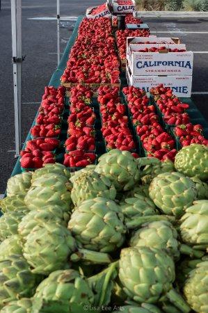 Farmer's Markets in Napa: Artichokes & Strawberries