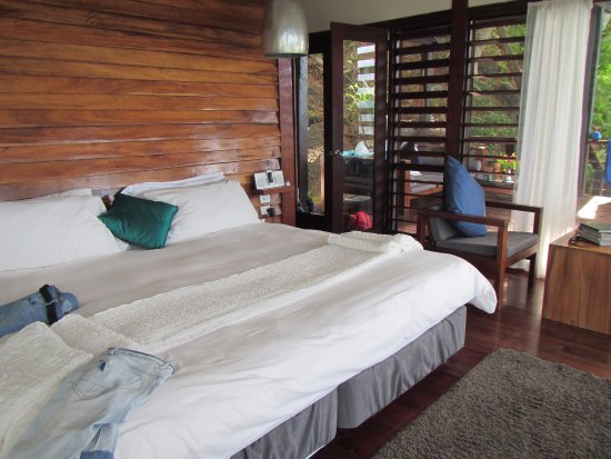 Vanua Levu, Fiyi: Most Comfortable bed!!